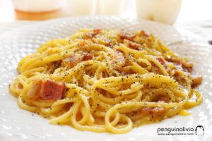 Carbonara意大利面食譜 Spaghetti Alla Carbonara Recipe