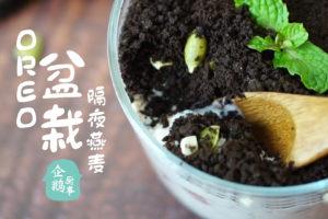 隔夜燕麦OVERNIGHT OATS: Oreo盆栽隔夜燕麦食谱