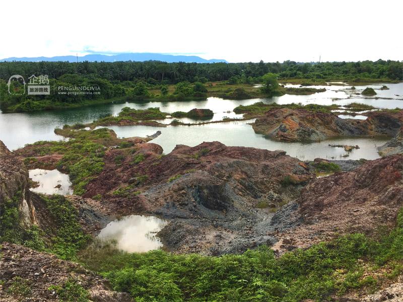 槟城北海隐藏景点: 大马九寨沟/大山脚九寨沟 Frog Hill/Bukit Katak