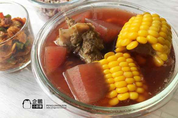 甜菜根黍米猪骨汤食谱